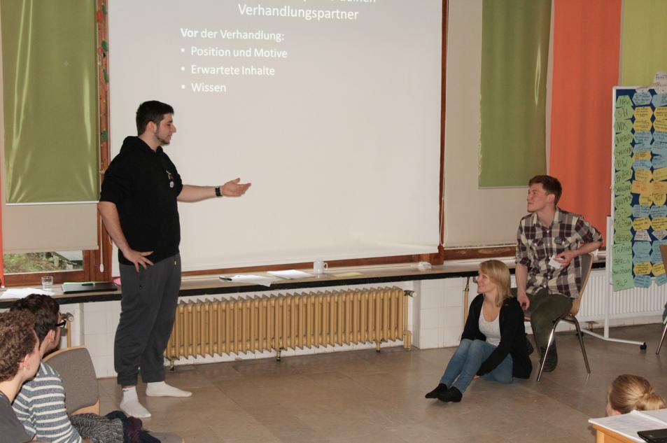 Vortrag von Jannis Graber