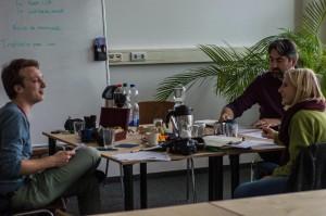 Richard, Pauline, Detlef Graupner (v.l.)